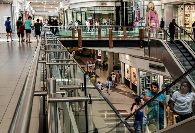 shopping mall, retailers