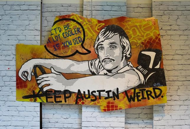 keep austin weird; matthew mcconaughey