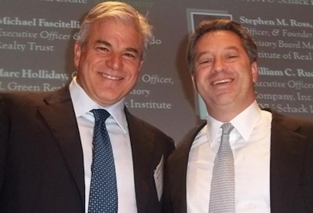 Michael Fascitelli and SL Green CEO Marc Holliday from 2011