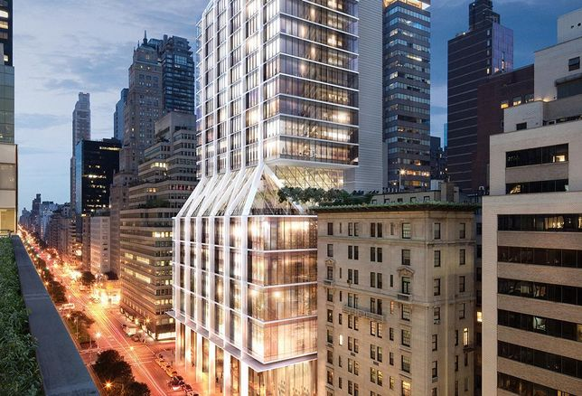 425 Park Ave, redeveloped by L&L Holding Co
