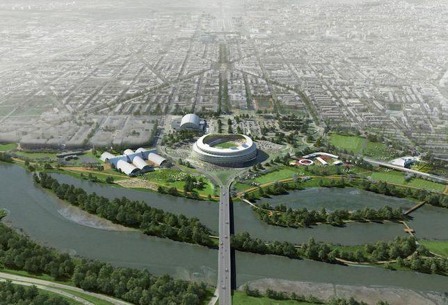 RFK Stadium Masterplan Short Term Plan