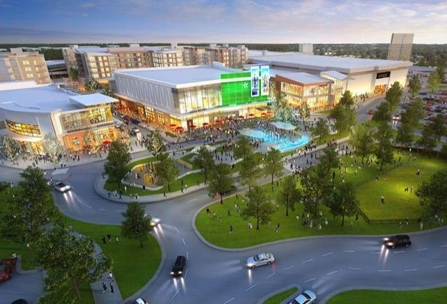 Landmark Mall Alexandria rendering