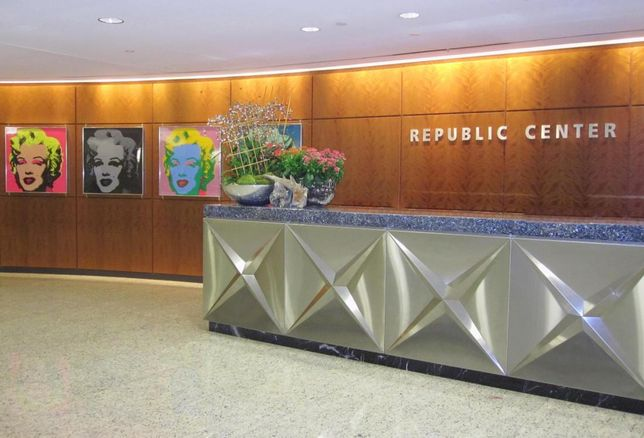 Younger Partners' Kathy Permenter, Trae Anderson and Sarah Savage repped the landlord in more than 19k SF of deals at Republic Center at 325 North St. Paul St in Downtown Dallas.