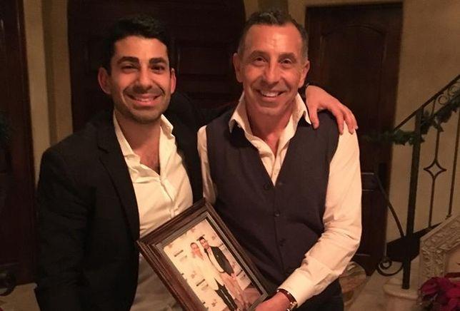 Tony Azzi (right) and Jordan Asheghian (left)