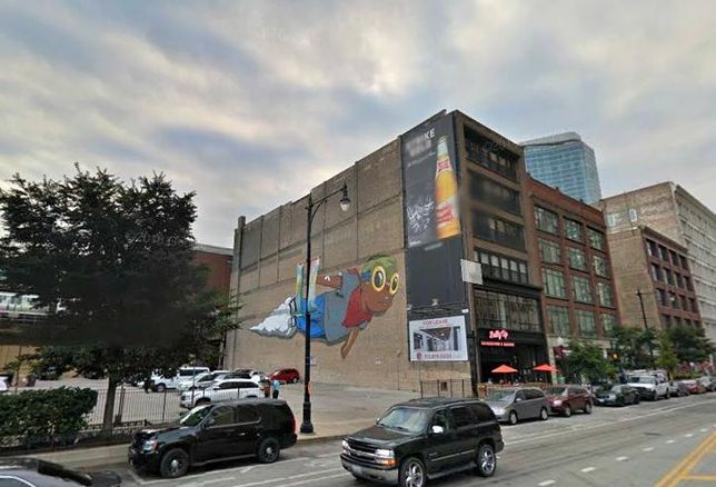 Hebru Brantley's 'Flyboy' Mural in Chicago's South Loop