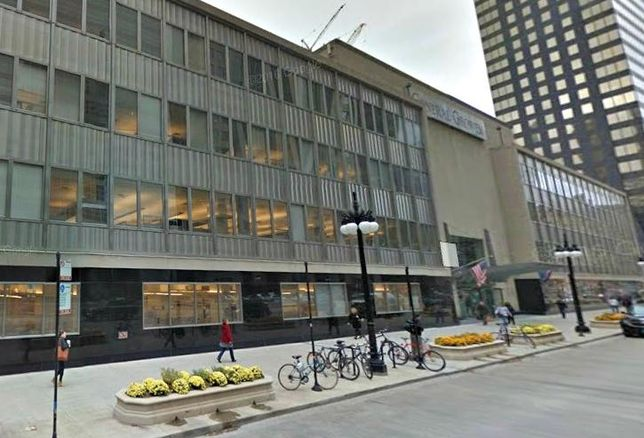 The General Growth Properties building at 110 North Wacker will  be razed and replaced with an 800-foot skyscraper