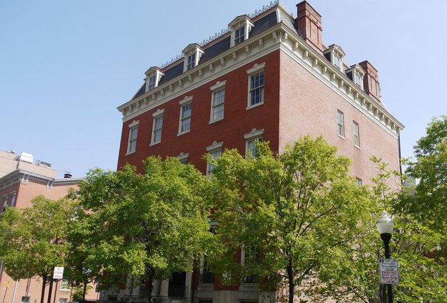 The Enoch Pratt Mansion in Baltimore