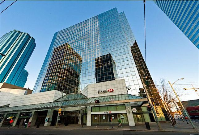 HSBC Bank Place in Edmonton