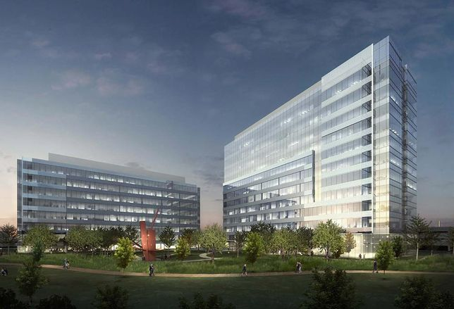 Hall Group broke ground on its 17th building in Hall Office Park. The 300k SF Class-A building called 3201 Dallas Pkwy will deliver December 2017 as the tallest tower in the 162-acre park. The 12-story spec building will have 3.8 structured parking spots per 1k SF.