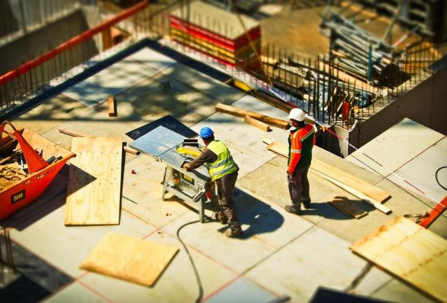 construction, construction workers
