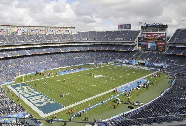 Qualcomm Stadium San Diego Chargers