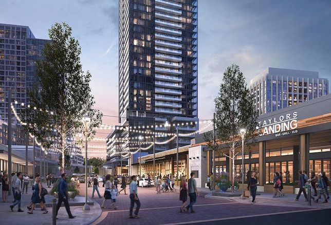 Rodeo Drive, the latest condo phase at CF Shops at Don Mills