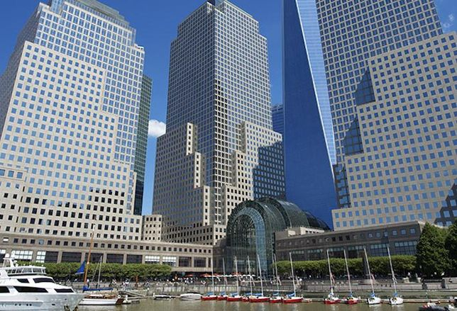 Brookfield Place in Downtown New York City, owned by Brookfield Property Partners