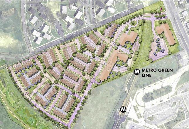 Riverfront at West Hyattsville rendering
