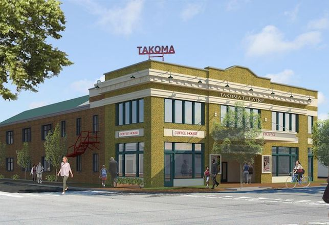 Takoma Theatre Rendering