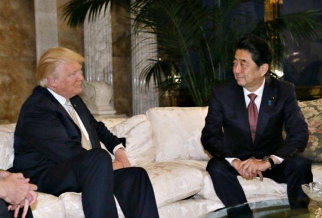 Shinzo Abe, President Trump