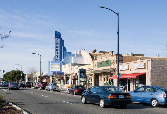 Cerrito Theater on San Pablo Avenue in El Cerrito