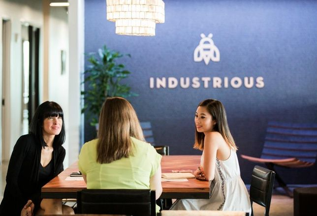 As if Spaces and WeWork were not enough to compete with local concepts, New York-based Industrious is headed to Dallas. The co-working space will lease 23k SF in One Arts Plaza later this summer.  The co-working space with locations in New York, Boston, Nashville, Denver, Los Angeles and elsewhere will open at Billingsley's One Arts Plaza in the Arts District. This will be the second Texas for the hospitality-focused workspace, after opening in Austin in last Fall.  Billingsley had been looking at co-working spaces for years, partner Lucy Billingsley said in a statement. She said Industrious' brand blended well with One Arts Plaza. The space will have between 70 and 80 private offices with 24 hour per day access.  Individual memberships run $450 per person and all members will have access to printing, mail services, conference cervices and fiber internet.