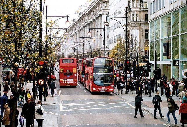 Oxford Street London, UK retail
