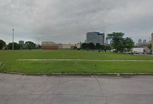 A vacant site at Cabrini-Green, Chicago