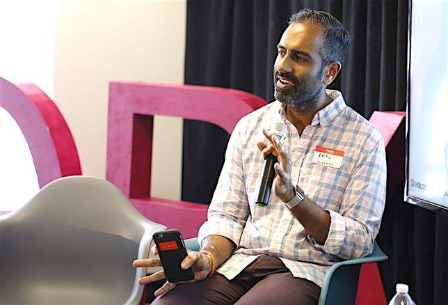 Knotel co-founder Amol Sarva.