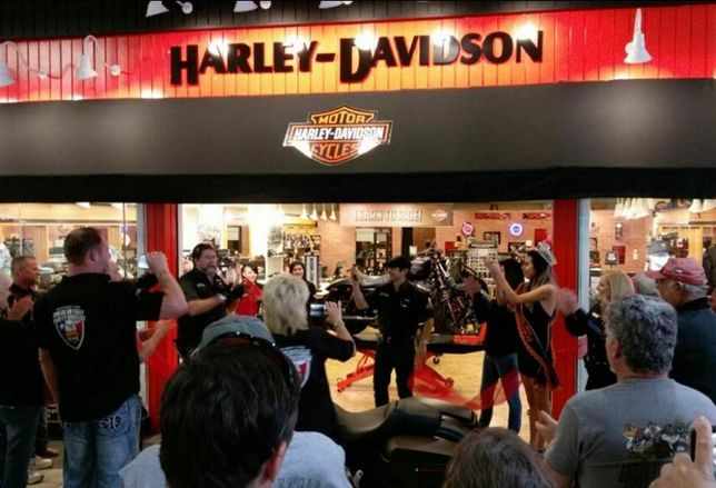 Harley-Davidson in Golden Triangle Mall in Denton