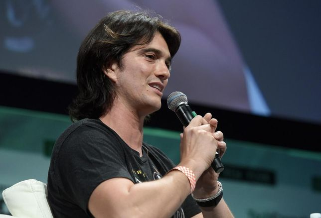 WeWork CEO and co-founder Adam Neumann