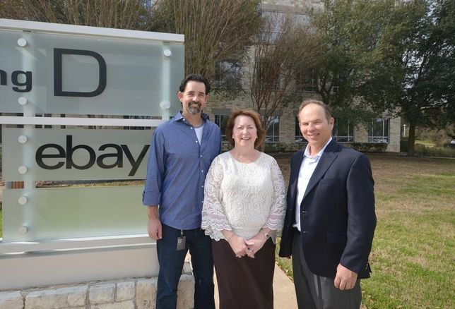 Zachary Jacobson, senior director, Business Excellence and Customer Insights, eBay; Kelly  Smith, senior property manager for Accesso Services, the property management arm of Accesso Partners, LLC, owner of 7700 Parmer; David Putman, principal, Aquila Commercial