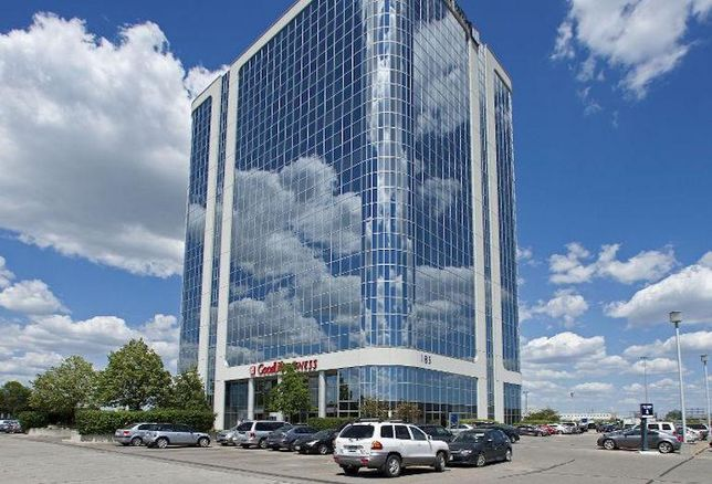 West Metro Corporate Centre, a three-building complex in Etobicoke.