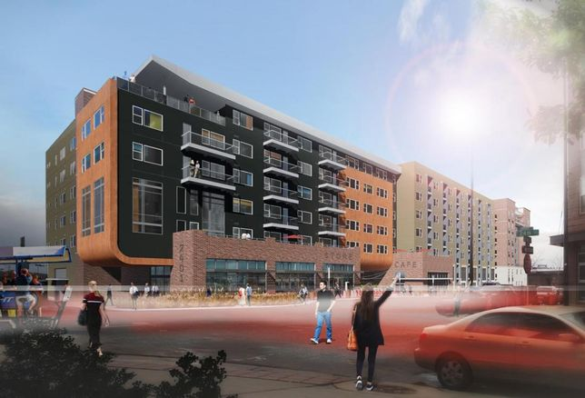 How A Denver Multifamily Development Blurs The Line Between Public And Residential Space