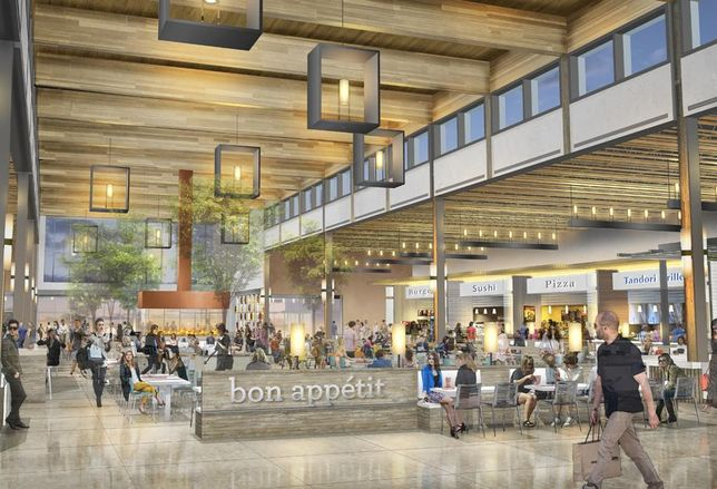A rendering of the Outlet Collection Winnipeg