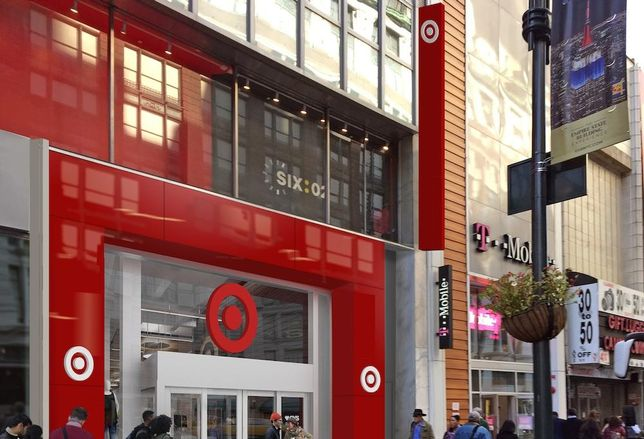 Rendering of Target's 112 West 34th St. store