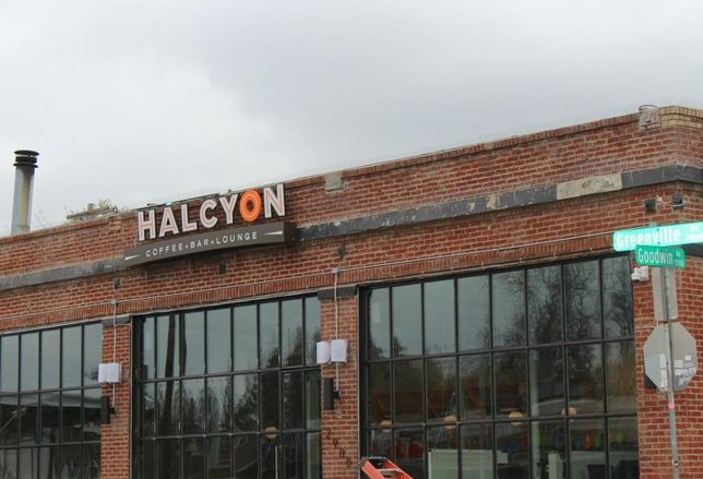Austin-based Halcyon Coffee Bar + Lounge opened a 4K SF location on Greenville Avenue and Goodwin Avenue in the former Cafe Brazil.