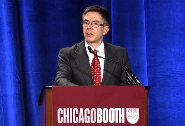 University of Chicago economics professor Randall Kroszner