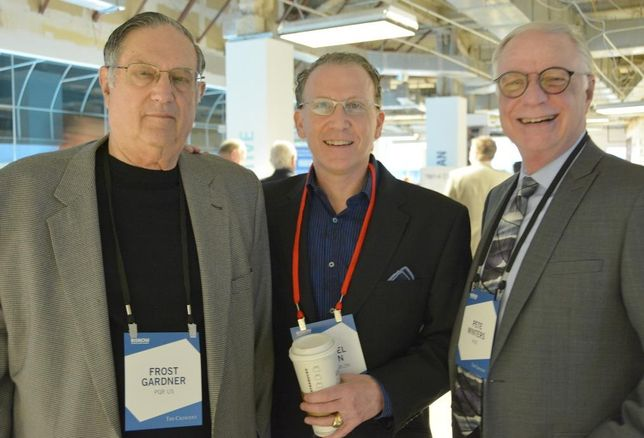 PQR's Frost Gardner, PegasusAblon principal Mike Ablon and Page's Pete Winters