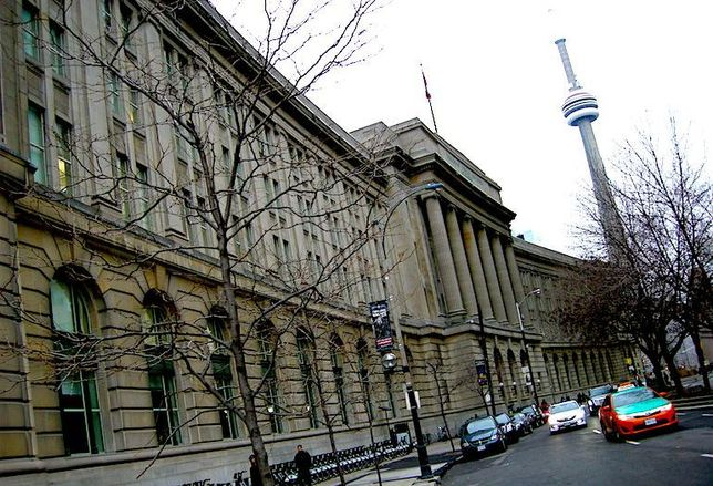 The Dominion Public Building at 1 Front St. W in Toronto