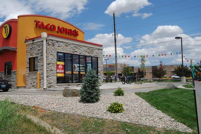 A Taco John's in Wyoming