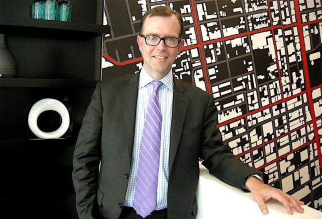 Cushman & Wakefield Canada CEO Chuck Scott