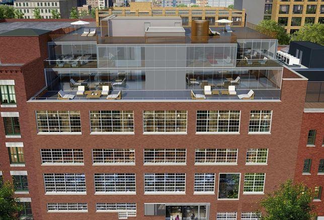 200 Water Street rendering