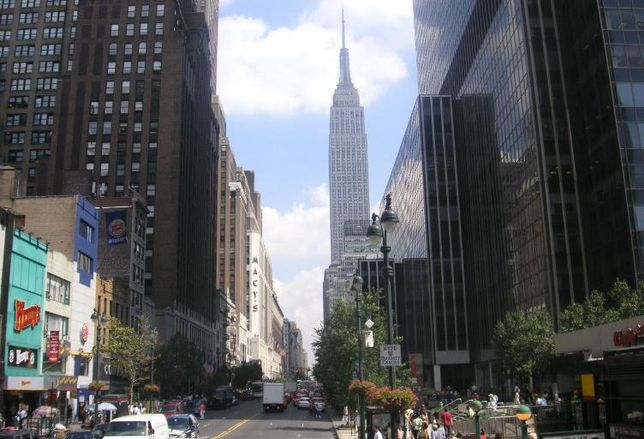 Manhattan Fifth Avenue, Empire State Building, New York