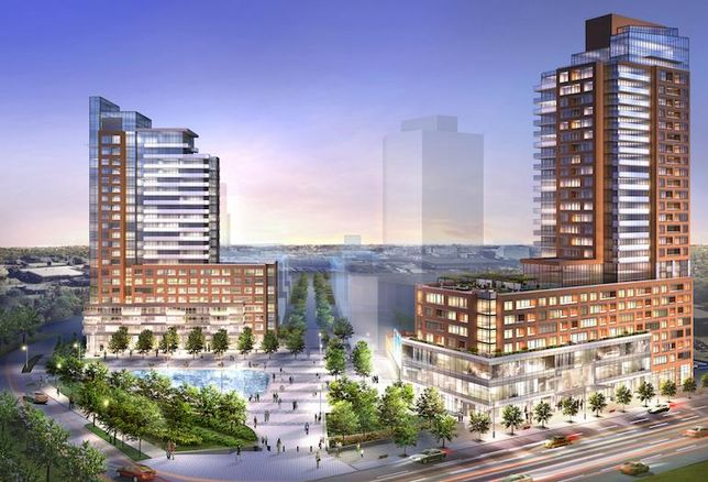 Pat Bayly Square, a new downtown hub for Ajax