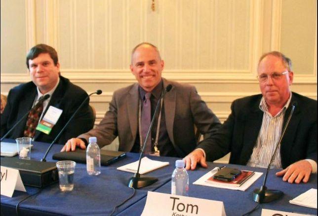 Applegate & Thorne-Thomsen attorney Glenn Graff, Ginsberg Jacobs partner Darryl Jacobs and Kasper Mortgage Capital president Tom Kasper