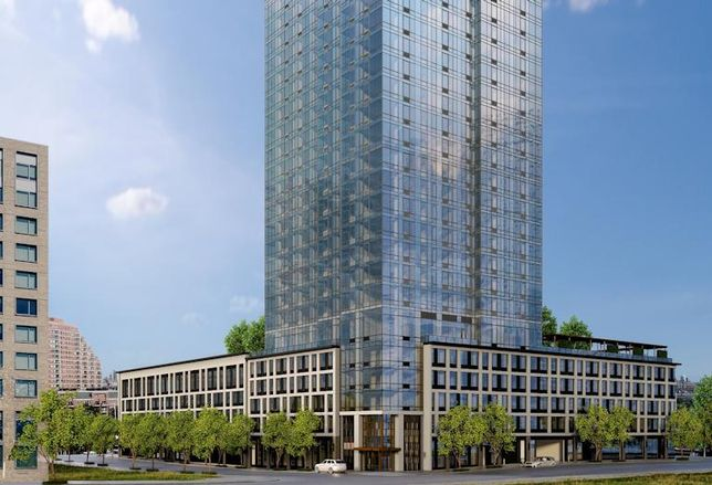 Fisher Development's Vantage at 33 Park View Ave. in Jersey City, NJ
