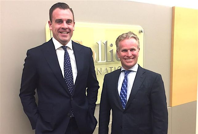 Colliers International's Matt Jones and Gord Cook