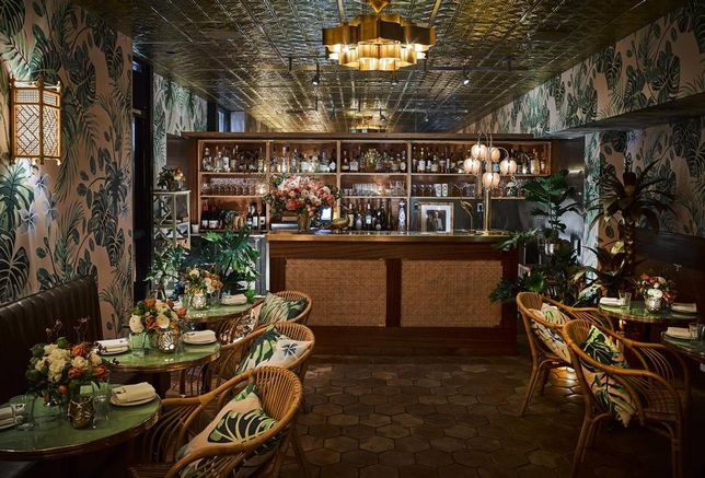The Glamourous Design Behind Leo's Oyster Bar In San Francisco