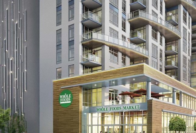 Harbor East's 22-Story Residential Building Begins Vertical Construction