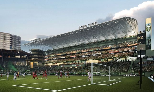 $50M Expansion Planned For Providence Park