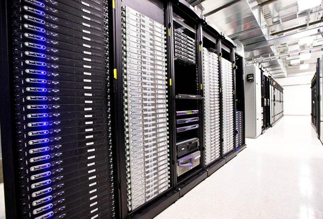 data center, computers