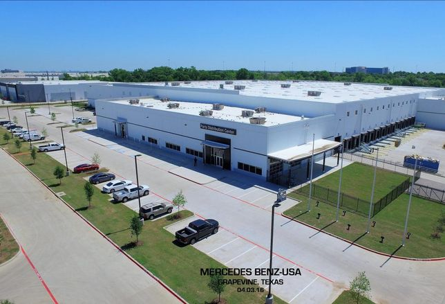 Seefried Properties has completed a $36.5M two-building training and distribution center for Mercedes-Benz in Grapevine. Mercedes-Benz employees moved into a 263K SF parts distribution center and a 59K SF learning performance center last week, Seefried executive chairman Ferdinand Seefried said. The parts center will be fully occupied and operational by May 10.