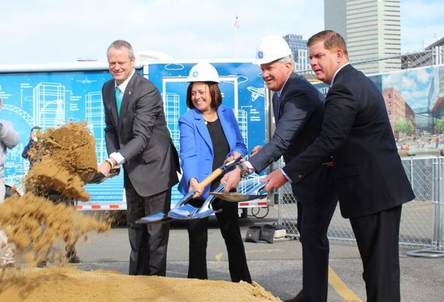 GE Breaks Ground On Boston Campus: 'This Isn't Going To Be Your Grandmother's HQ'